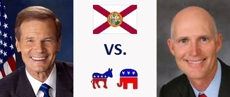 Florida Senate Election 2018 - Bill Nelson vs. Rick Scott